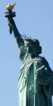 Lady Liberty as Goddess for modern life